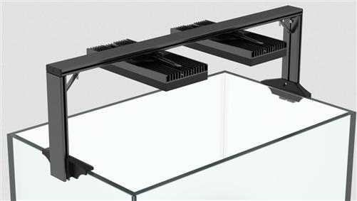 Ai Hms Dual Arm Mount Rail Kit Rail And Fixture Brackets