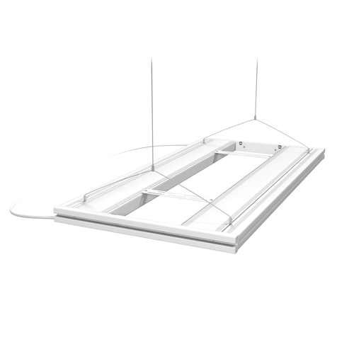 Aquatic Life Hybrid T5HO 4 Lamp Light Fixture 36\
