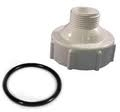 AquaUltraviolet Replacement  EZ Twist Top, White With ORing