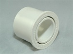 "PVC Reducer Bushing 1.25"" x 3/4"" - SxS WHITE"