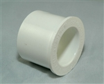 "PVC Reducer Bushing 2"" x 1"" -  SxS WHITE"