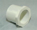 "PVC Reducer Bushing 1.25"" x 1"" - SxT WHITE"