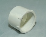 "PVC Reducer Bushing 1.5"" x 1.25"" - SxT WHITE"