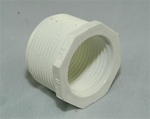 "PVC Reducer Bushing 1.5"" x 1.25"" - TxT WHITE"
