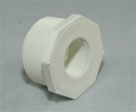 "PVC Reducer Bushing 1.5"" x 3/4"" - TxT WHITE"