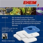 Eheim Replacement Pad Set for All Pro3, Ultra and Pro 4 Filters 1 Blue, 4 White Pads