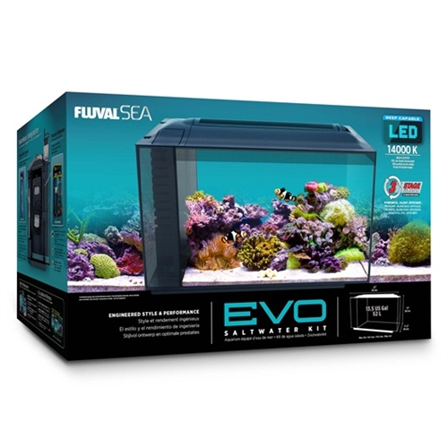 Fluval Sea 174 Evo Aquarium Kit 13 5 Gallons No Free Freight