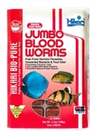 Hikari Jumbo Blood Worms 3.5 oz Cube