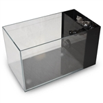 "Lifegard Crystal Peninsula Aquarium - Low Iron Ultra Clear - Side Filter With Pump 14.2""x7.9""x7.9"" - 3.8 Gallons"