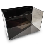 "Lifegard Crystal Aquarium - Low Iron Ultra Clear - Back Filter With Pump 17.7""x11.8""x11"" - 9.9 Gallons"
