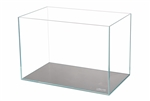 "Lifegard Crystal Aquarium - 45 Degree Low Iron Ultra Clear - 17.7""x10.6""x11.8"" - 9.6 Gallons"