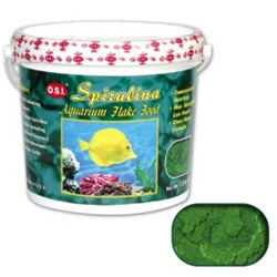 OSI Spirulina Flake Food 2.2 LB.