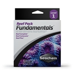 Seachem Reef Pack: Fundamentals 3 x 100 ml - Reef Complete, Carbonate, Reef Plus