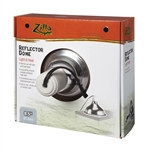 Zilla Reflector Dome Silver 8.5IN