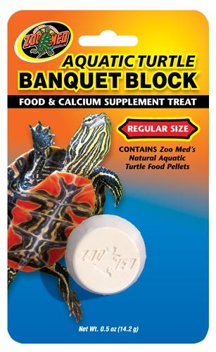 Zoomed Aquatic Turtle Banquet Block