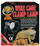 Zoomed Wire Cage Clamp Lamp (UL Listed)