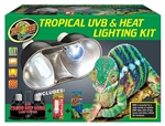Zoomed Tropical UVB & Heat Lighting Kit