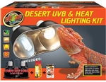 Zoomed Desert UVB & Heat Lighting Kit