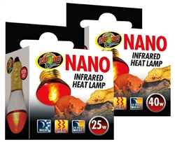 Zoomed Nano Infrared Heat Lamp 40w