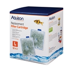 Aqueon Replacement Filter Cartridges LARGE 12 Pack