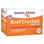 Instant Ocean Reef Crystals Reef Salt 200 Gallon Box