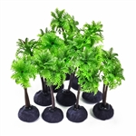"Aquatop Plant Pack 4"" Palm Trees 10 Pieces"