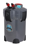 Aquatop CF400UVMKII Canister Filter 4-Stage w/ Vortex Prime & 9W UV - 370 gph