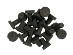 Boston Aqua Farms Ceramic Reef Plugs - 20 Per Bag - BLACK
