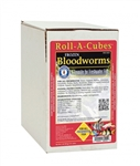 Bay Brand FROZEN Bloodworms - Roll A Cube 2lb