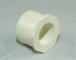 "PVC Reducer Bushing 1.25"" x 3/4"" - SxT WHITE"
