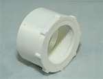 "PVC Reducer Bushing 2"" x 1.25"" - SxT WHITE"