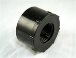 "PVC Reducer Bushing 2"" x 1"" - SxT BLACK"