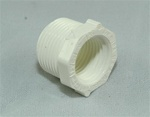 "PVC Reducer Bushing 3/4"" x 1/2"" - TxT WHITE"