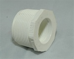 "PVC Reducer Bushing 1.25"" x 1"" - TxT WHITE"