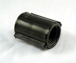 "Marlex Coupling 1/2"" - TxT BLACK"