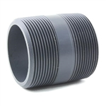 "PVC Pipe Nipple 1"" Sched 80 - 2"" Long"
