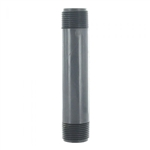 "PVC Pipe Nipple 1"" Sched 80 - 6"" Long"