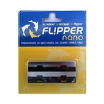 Flipper Replacement Stainless Steel Blade for Nano Glass Tanks Only (2 pcs per pkg)