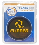 Flipper Deep See Orange Lens Filter - 4""
