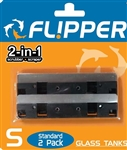 Flipper Large Replacement Stainless Steel Blade 2 Pack