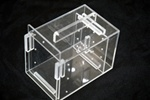 "Acrylic Fish & Pest Trap and fish holder 9"" x 5"" x 6"""
