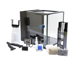 Innovative marine NUVO Fusion 10 PRO Bundle Kit (DC Pump, Custom Caddy w/media & Micromag Glass Cleaner)