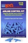Lee's Airline Control Kit With Tees, Valves