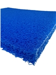 "Lifegard Aquamesh Progressive Filter Media 19.5""x24"" BLUE Stage 3"