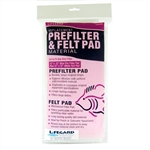 Lifegard Prefilter and Felt Pad Combo 12x12