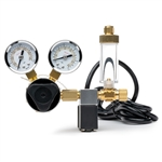 Milwaukee Co2 Regulator W/Solinoid & Bubble Counter
