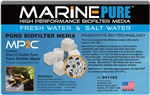 MarinePure High Performance Biofilter Media MP2C 1/2 CU FT