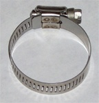 "1 1/2"" All Stainless Steel Hose Clamp"