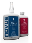 Novus Plastic Polish Kit 8 oz - #1,2, 1 Polish Mate