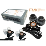 "Neptune Flow Monitoring Kit (FMM, (2) FS-50, (4) 1/2"" Adapters, (1) FS-100, (2) 1"" Union"